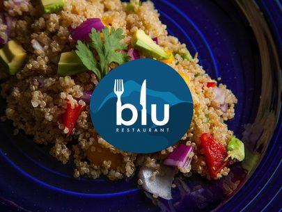 Global fusion cuisine in Belize! Blu Restaurant