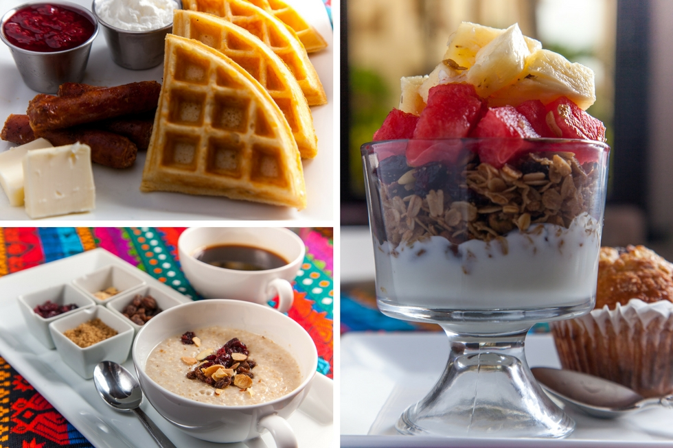 Breakfast Options at Coco Café