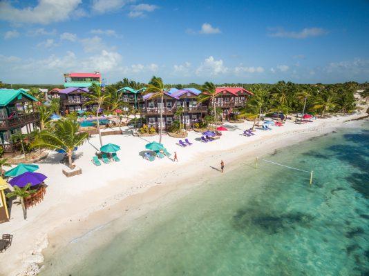 North Beach island Belize