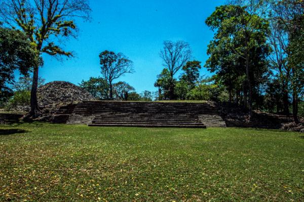 Belize southern ruin - lubaantun