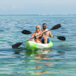 Kayaking around X'tan Ha Resort