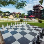 life size chess at X'tan Ha