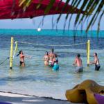 Volley Ball at X'tan Ha Beach